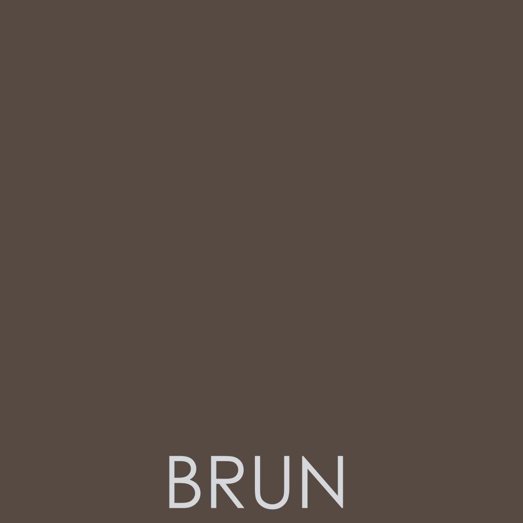 Coloris Brun - marron foncé